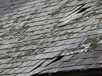 Deteriorating Roof Covering